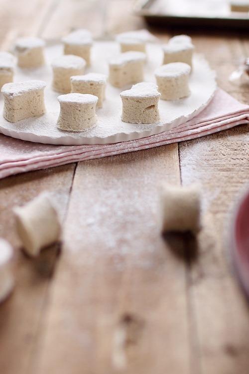 Guimauves au sucre Muscovado et fruit de la passion