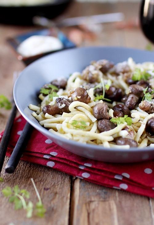 spatzle-champignons-echalote-parmesan4