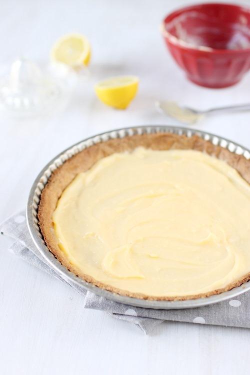 tarte-crumble-citron-griottes