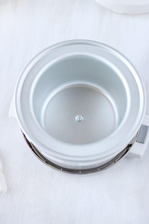 Prix d une sorbetiere maison design - Turbine a glace comparatif ...