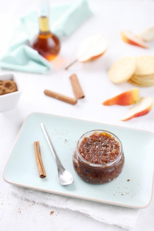 Chutney de poires au sucre muscovado et épices