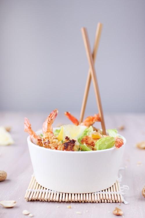 gambas-salade