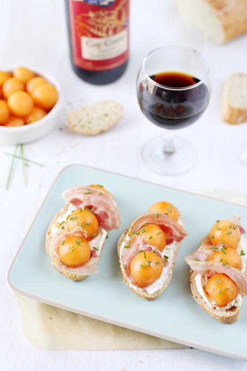 tartine-melon-pancetta