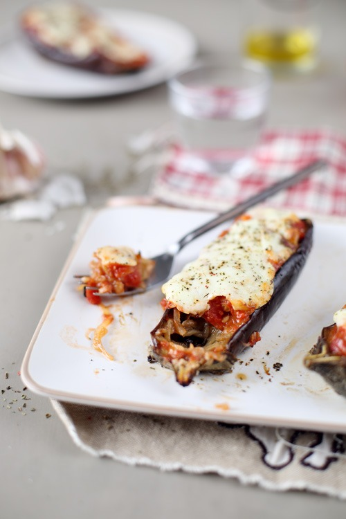 aubergines-roties-mozzarella11 copie