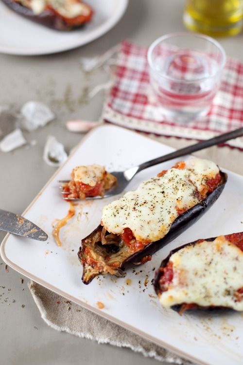 aubergines-roties-mozzarella12 copie