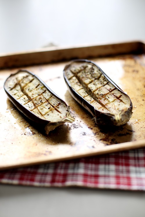 aubergines-roties-mozzarella2 copie