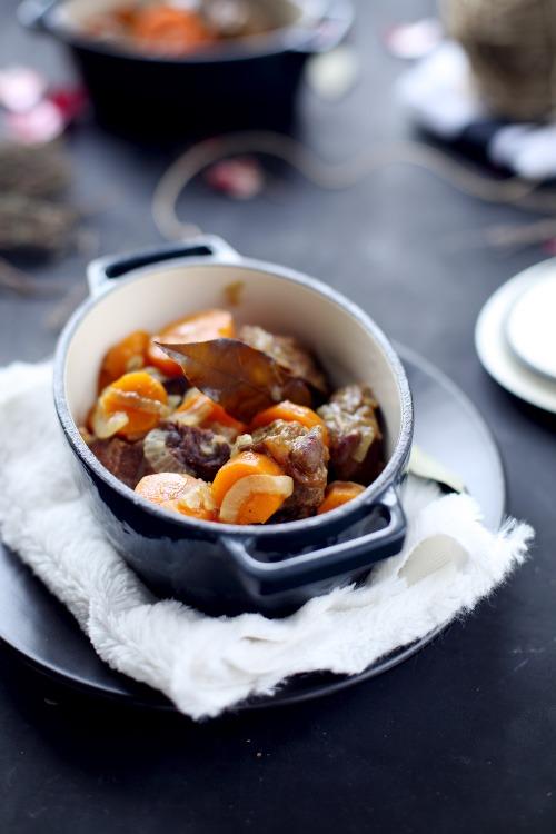 Boeuf / carottes au colombo