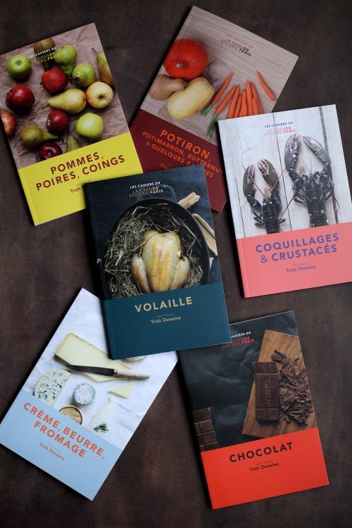 Avis livre : Les cahiers de la Grande Epicerie de Paris de Trish Deseine + Concours