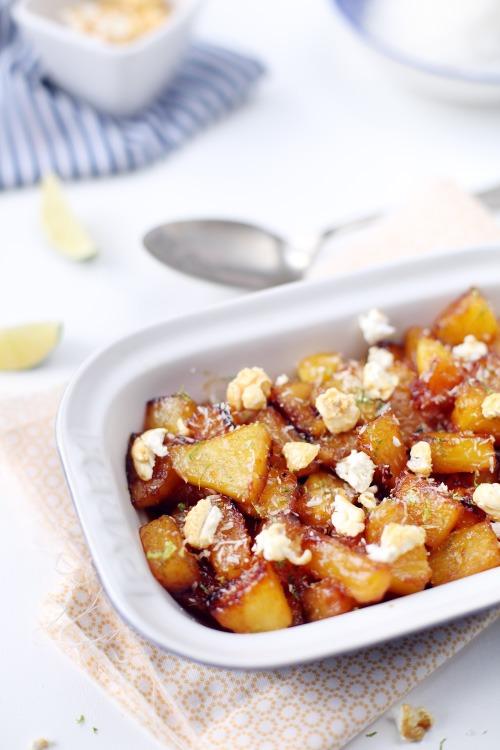 ananas-caramelises-citron-vert-popcorn3