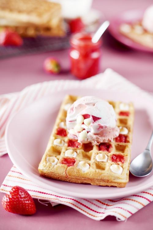 gaufre-fraise-meringue