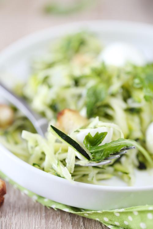 salade-courgette-mozzarella-menthe