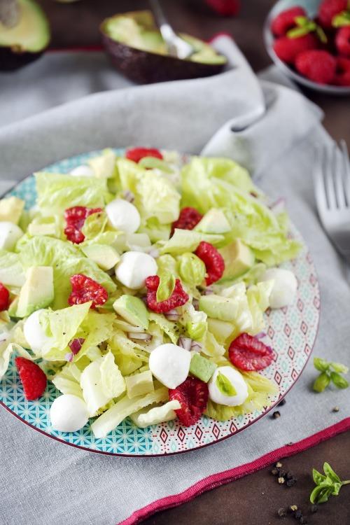 salade-mozzarella-avocat-framboise3