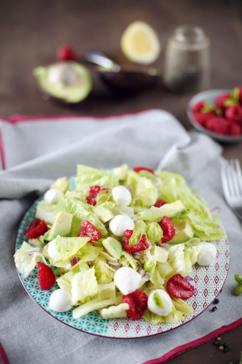 salade-mozzarella-avocat-framboise8