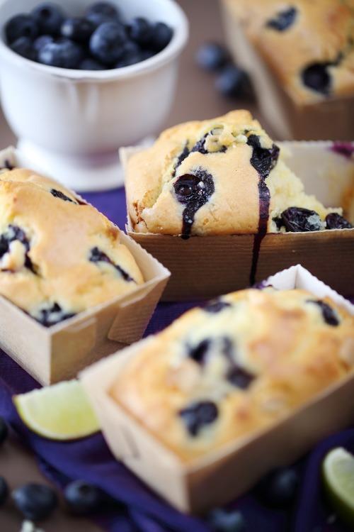 Cake Aux Myrtilles Et Citron