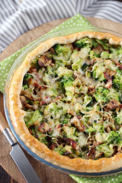 tarte-brocolis-champignons-lardons2