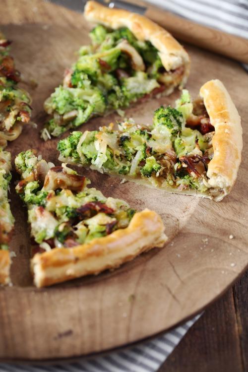 tarte-brocolis-champignons-lardons3