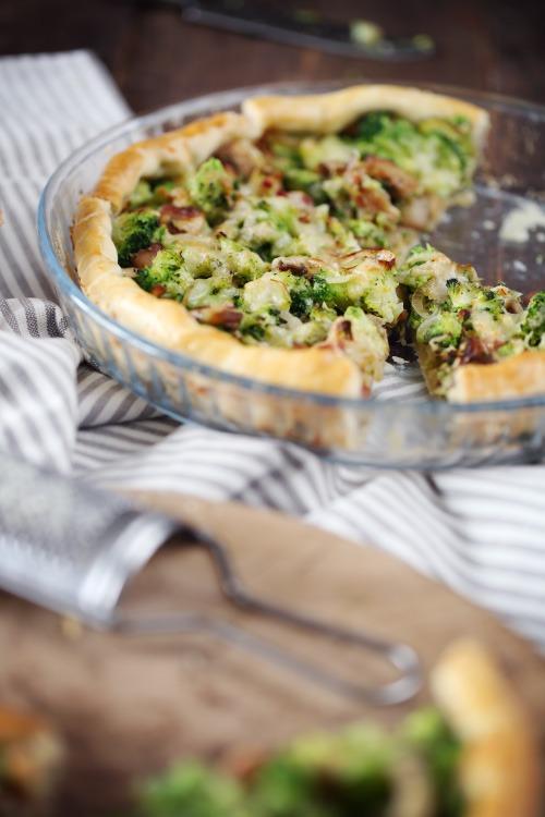 tarte-brocolis-champignons-lardons7