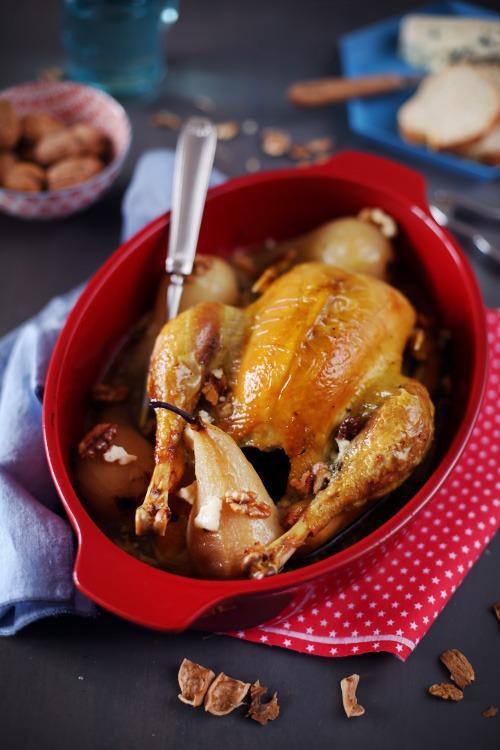 poulet-roti-poire-roquefort6