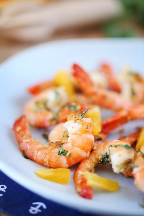 crevettes-persillade