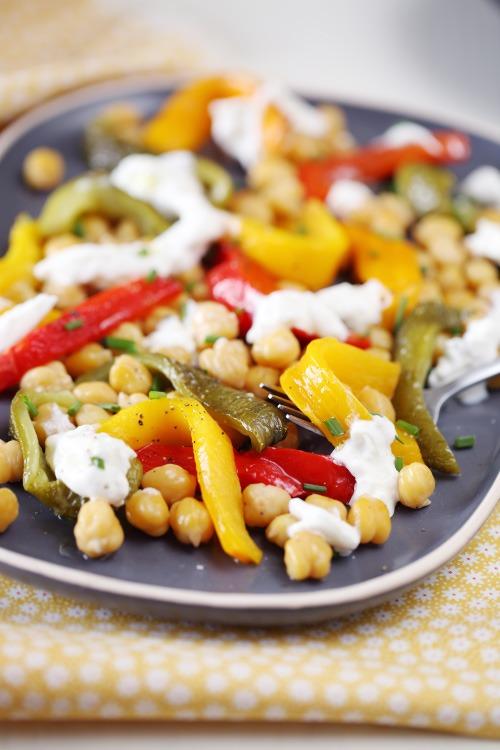 salade-poivron-pois-chiche