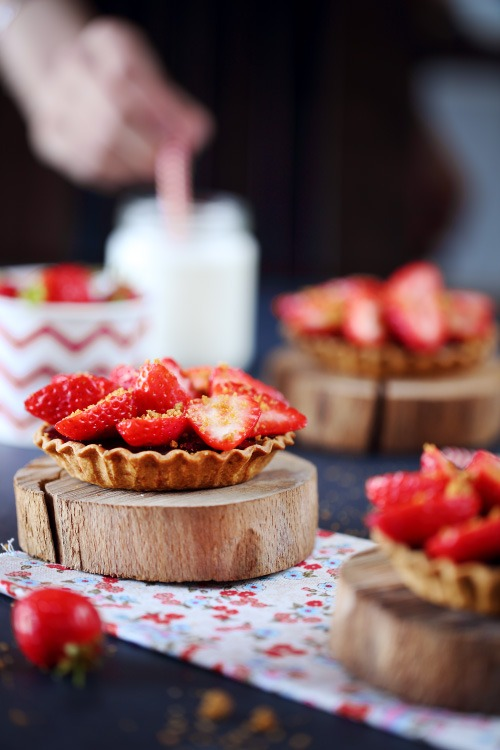 tartelettes-chocolat-fraises2