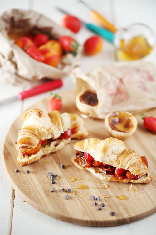 croissants-abricots-fraises2