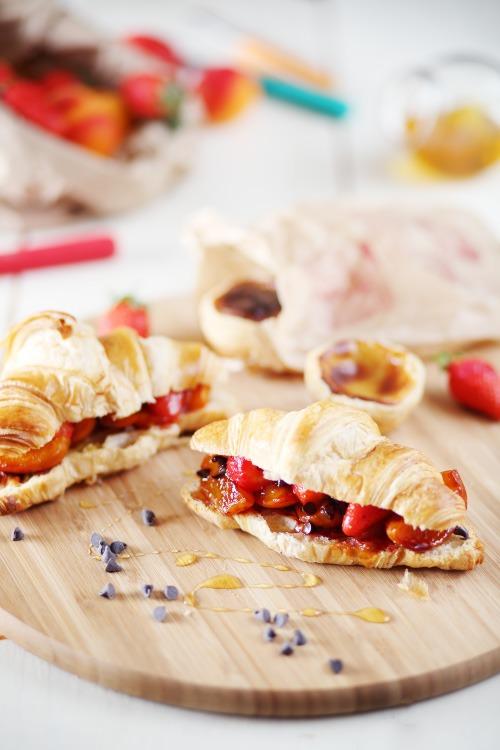 croissants-abricots-fraises3