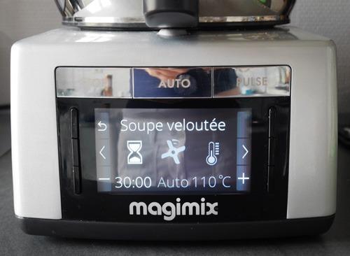 Test du robot magimix cook expert chefnini - Robot pour faire la soupe ...