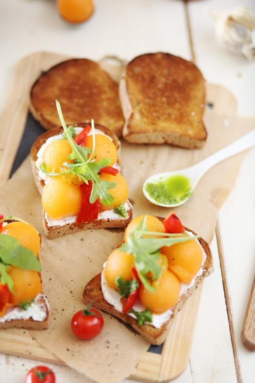 tartine-melon-poivron-chevre7