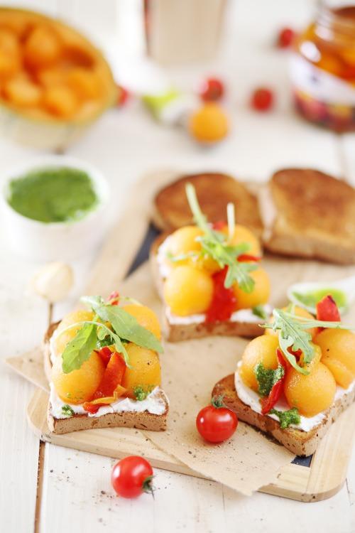 tartine-melon-poivron-chevre8