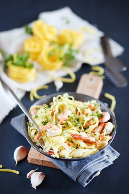 tagliatelles-crevettes-ail2