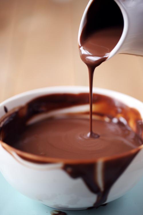 Sauce Chocolat Qui Ne Durcit Pas Chefnini