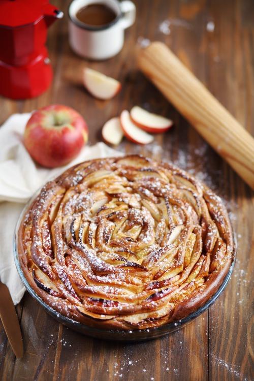 tarte brioch 233 e aux pommes chefnini